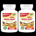 Bigger Breast & Buttocks And Hips Enlargement Maca Root Extract 5000mg Pills - 200 Capsules - Women's Health