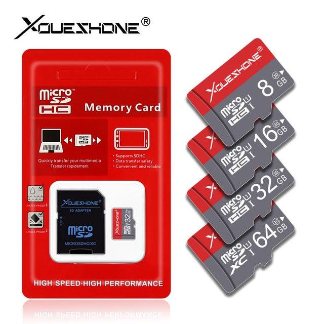 Date carte micro sd 8 GB 16 GB 32 GB 64 GB 128 GB SDXC/SDHC classe 10 Flash Carte Mémoire micro sd 32 go carte sd pour smartphone/caméra