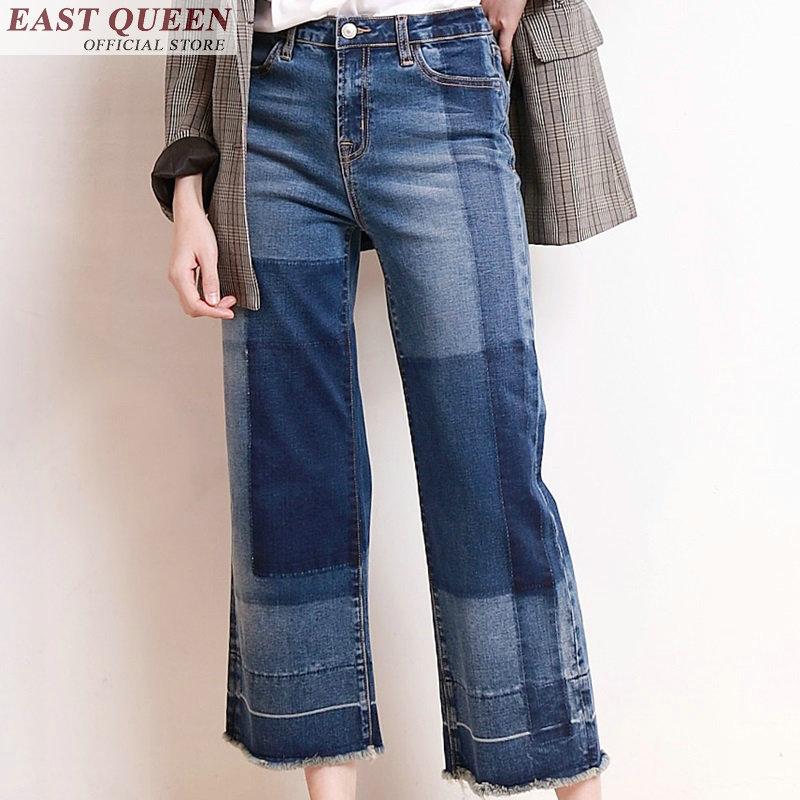 Jeans Un 1 Nouveau Femmes Droite Sentiment Ff300 Pour Cowboy Denim Les Vêtements Pantalon Boyfriend Lâche OdwwHq