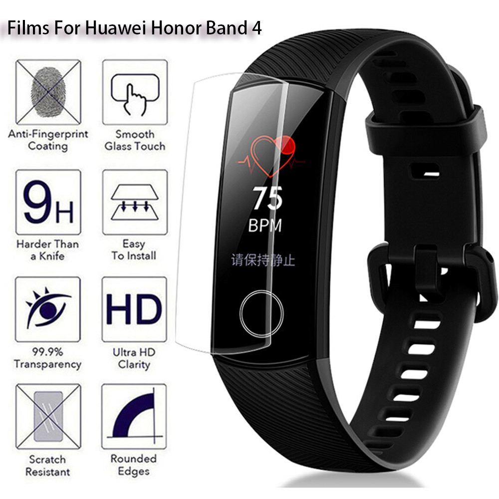 Water-Gel-Film Screen-Protector-Cover Honor Huawei Band-5 Anti-Scratch HD for Ultra-Clear