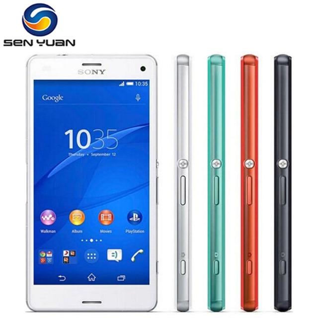 Original Unlocked Sony Xperia Z3 Compact D5803 Mobile Phone Quad core 2GB RAM 16GB ROM 3G&4G WIFI GPS Z3 mini cell phone