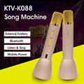 K088 Karaoke Player Bluetooth Microphone Speaker Wireless 4.1 Outdoor KTV Singing Record power bank For Android IOS vs K068 Q7