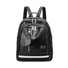 Кожаный рюкзак для школы подростков Обувь для девочек Женская сумка Высокое качество Рюкзаки большой Ёмкость Сумки