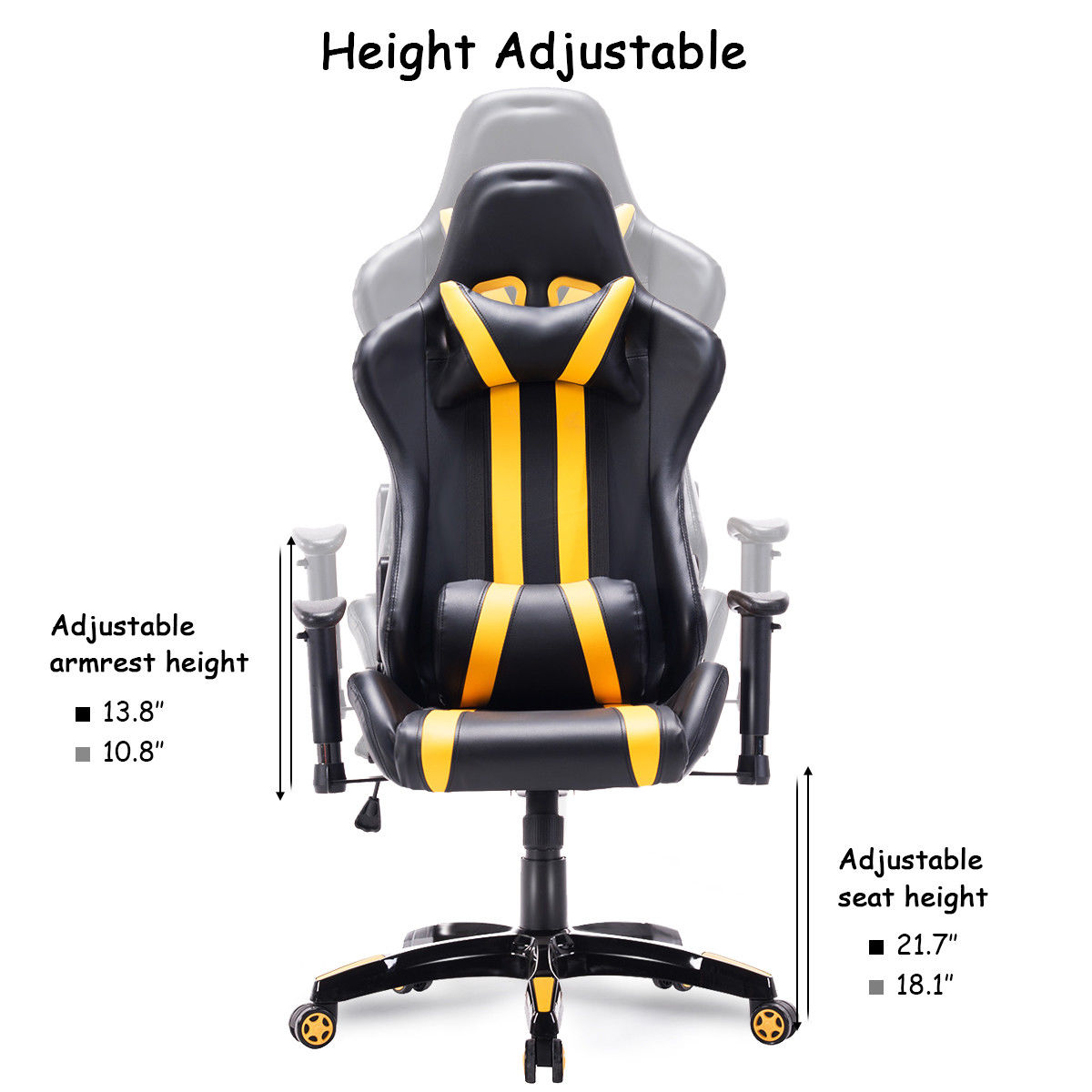 High Back Executive Racing Style Office Chair  4