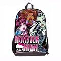 """17 """"мода новые дети монстр средней школы сумки для подростков Мультфильм рюкзаки девушки мешок mochila эсколар пвх"""