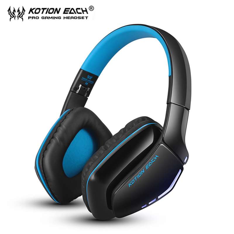 KOTION EACH B3506 auriculares Wireless fone de ouvido Bluetooth Headphone Gaming headset eraphone Headphones Microphone kotion each b3506 foldable auriculares wireless fone de ouvido bluetooth headphones gaming headset gamer microphone kulaklik