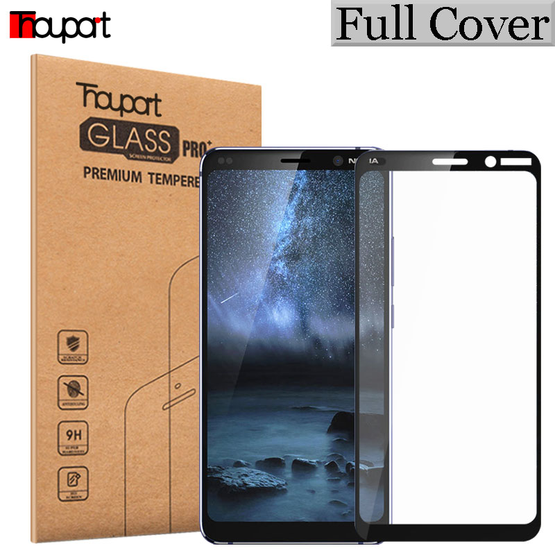 Tempered Glass For Nokia 9 PureView Screen Protector Protective Film Glass For Nokia 2.1 3.1 6.1 Plus Display Full Cover Glasses