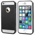 Fullbody todo o metal de alumínio do caso do quadro rígido capa para iphone 5 5s frete grátis