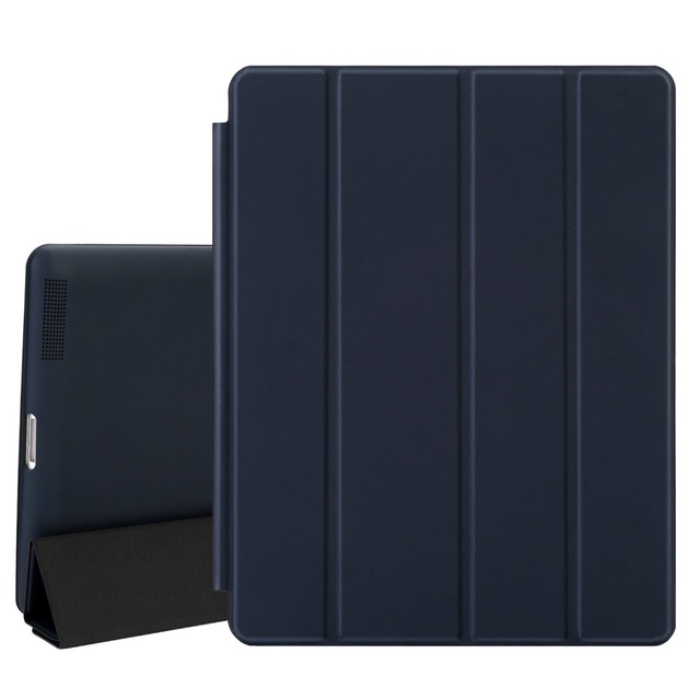 case for ipad 2 3 4, magnetic leather smart cover for apple ipad 4thcase for ipad 2 3 4, magnetic leather smart cover for apple ipad 4th generation