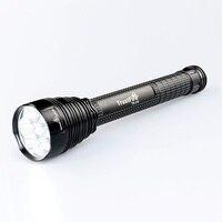 Trustfire TR J18 lanterna 5 modos 8000 lumens poderosa tocha 7x XM L2 por 18650/26650 luzes à prova dwaterproof água ao ar livre lâmpada de caça|Lanternas| |  -