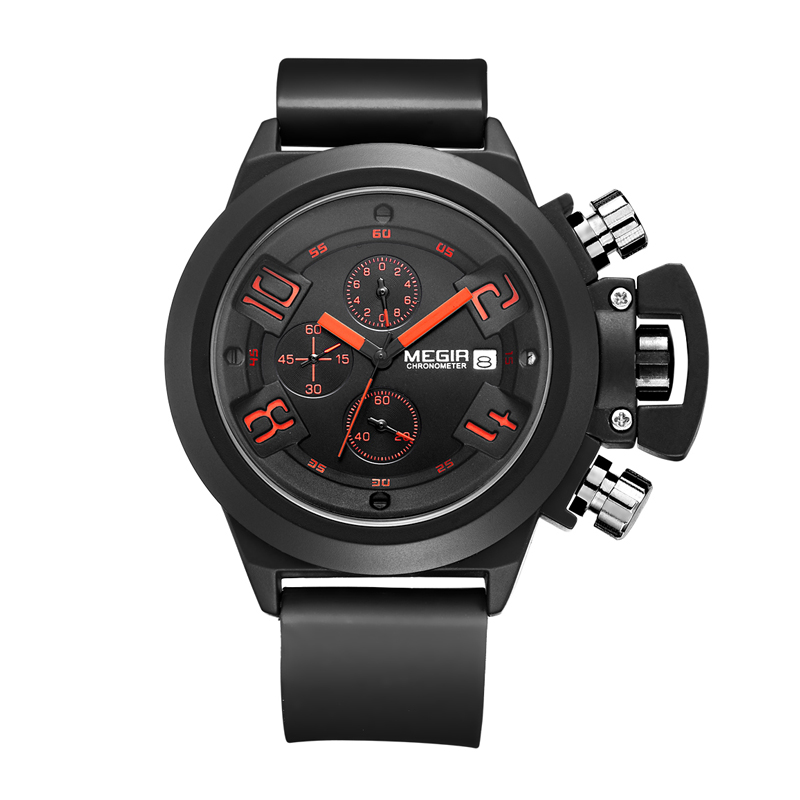MEGIR Creative Men Sport Watch Top Brand Luxury Army Military Watches Clock Men Chronograph Quartz Wristwatch Relogio MasculinoMEGIR Creative Men Sport Watch Top Brand Luxury Army Military Watches Clock Men Chronograph Quartz Wristwatch Relogio Masculino