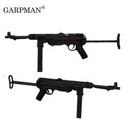 84 см 1:1 немецкий Mp40 пистолет-Автомат 3D бумажная модель Frearms оружие ручной работы рисунки военный бумажный реквизит в виде пистолета модель б...