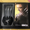 New Hot Original High Quality Cosplay Anime Super Heroes One Pair 1:1 Wolverine Paw Gloves with Retail Box Free Shipping