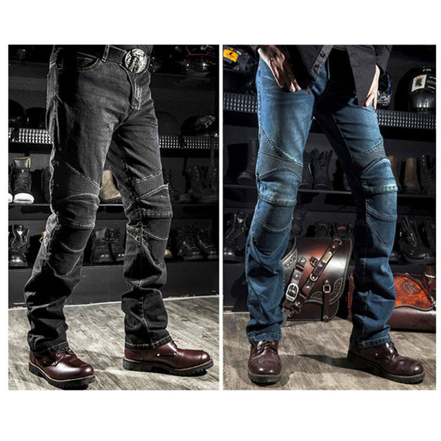 2019 hot sale Komine motorcycle leisure motorcycle men's cross-country outdoor riding jeans with protective equipment knee pads 1