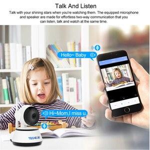 Image 5 - Techege 1080p hd câmera ip sem fio wifi 2mp com fio de vigilância vídeo visão noturna câmera segurança em casa rede interior yoosee