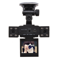 H3000 Car DVR With 8 LED IR Night Vision Dual Cameras 2 0 Inch TFT LCD