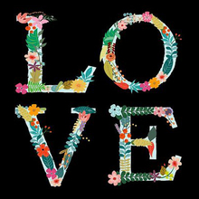 DIY Diamond Painting flower letter love Embroidery Mosaic Cross Stitch Home Decor