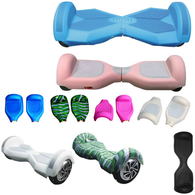 2pcs set Silicone Case Cover for 6 5 Smart Self Balancing Scooter Wheel Hoverboard
