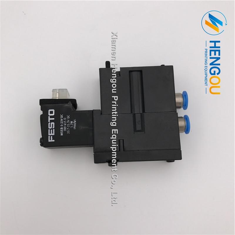10 Pieces DHL Free Shipping DC Valve MEBH-4/2-QS-6-SA Heidelberg valve M2.184.1121 M2.184.1121/05 Festo Solenoid valve