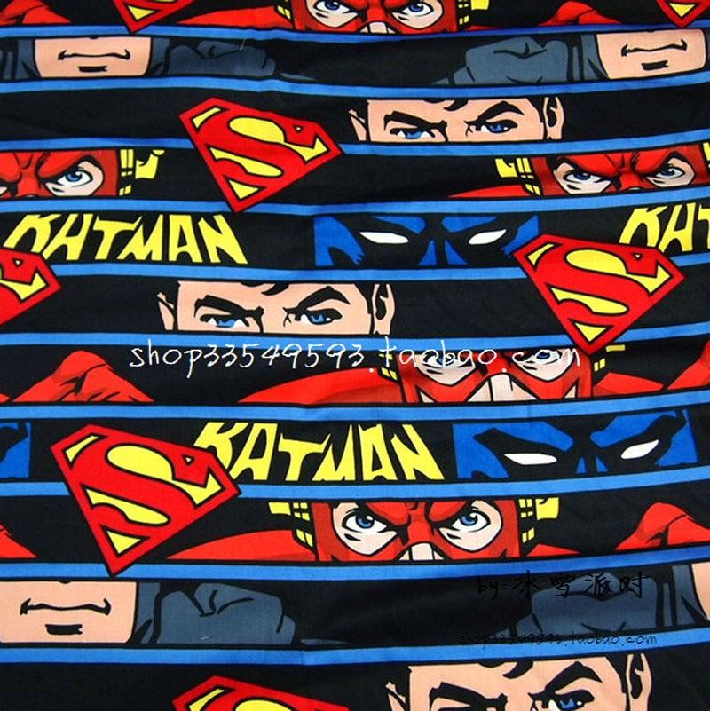CAMELOT FABRICS SUPERMAN WHACK BAM