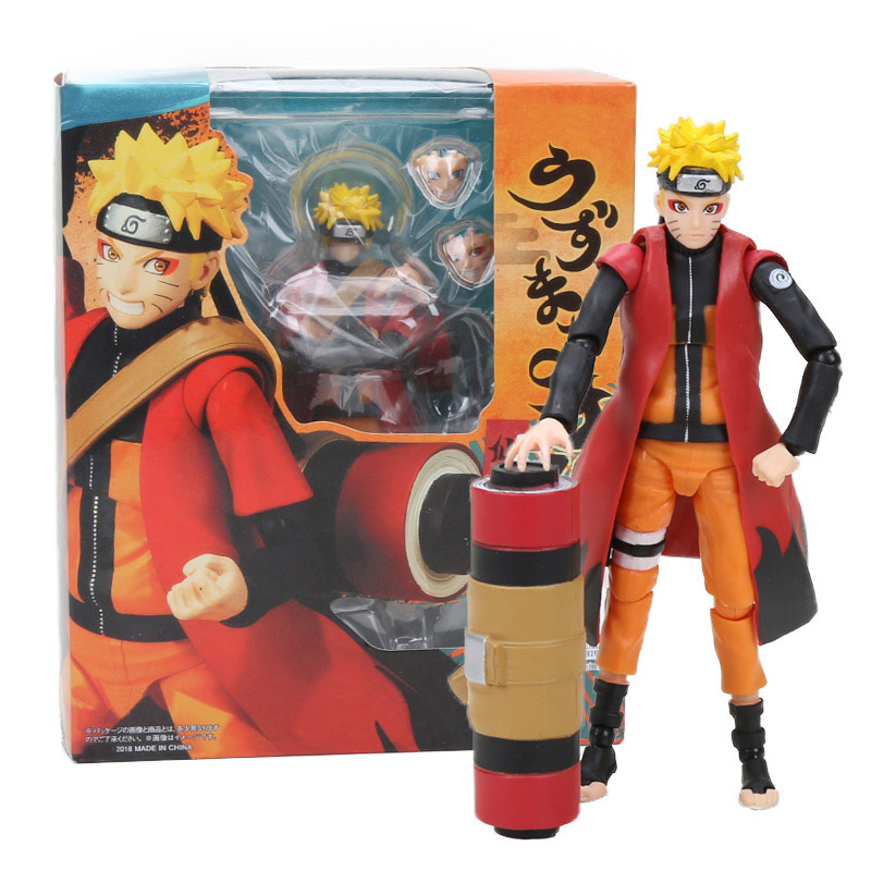 13-14cm Figurine Naruto Uzumaki Sage Mode Naruto Shippuden Action Figure BORUTO Uzumaki Collection Model Toy Boruto Figurine