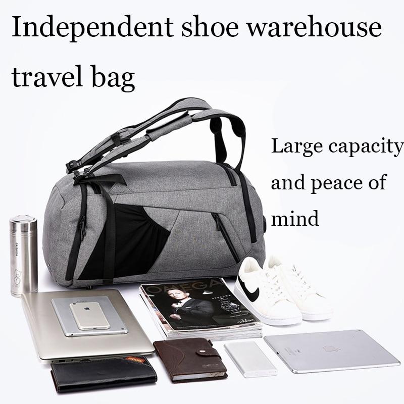 35L Fitness Gym Bags Outdoor Camping Backpack Sport Training Travel Men Woman Durable Multifunction Handbag Laptop Shoulder Bag (9)