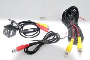 Image 5 - 車ccdビデオオートパーキングモニター、ledナイト逆転ccd車のリアビューカメラと 4.3 インチ車のバックミラーモニター