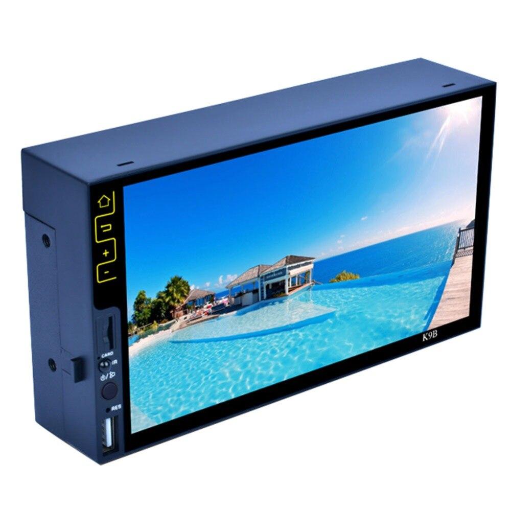 7 pouces Bluetooth FM Radio stéréo MP5 lecteur HD 1090 P FM USB lecteur écran tactile LED RDS stéréo Audio Radio pour voiture