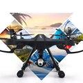 Nueva WIFI FPV RC drone JJRC H26WH 2.4G 4CH Girocompás 6-Axis actitud contener RC Quadcopter Headless Modo HD cámara de hasta 300 M vs K70 q333