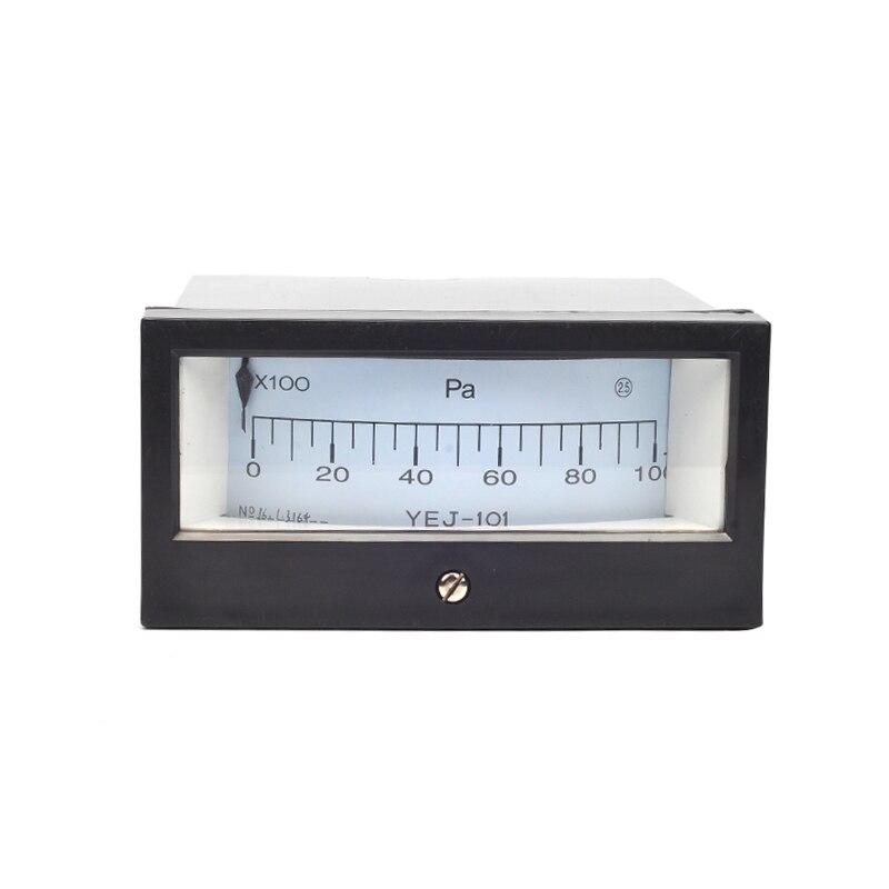 YEJ-101 0-10KPA Square Diaphragm Pressure Gauge Film Box Pressure Gauge Square Pressure gauge Positive Pressure Meter