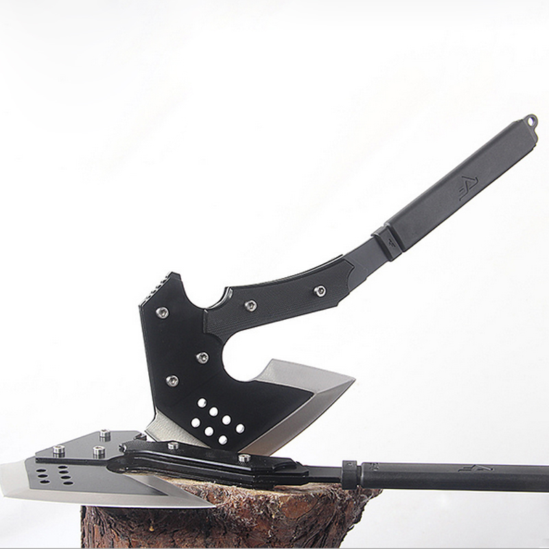 Multifunction Tactical Axe Tomahawk Multi Army Outdoor Hunting Camping Survival Machete Axes Hand Outdoor Tools Hatchet Fire Axe best outdoor survival tomahawk axe tactical cold ice ax multifunction axes camping firefighting hand tool steel hatchet machete