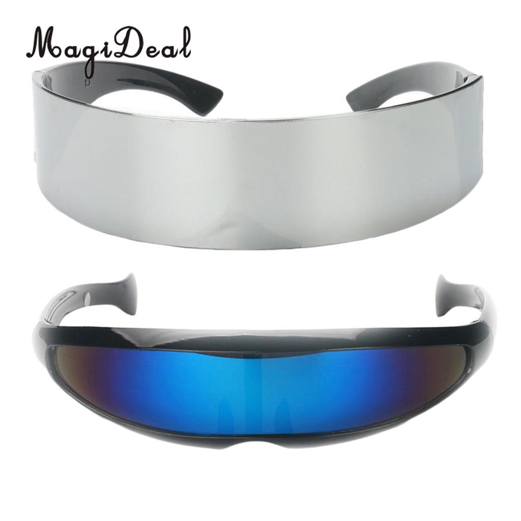 Futuristic Space Galaxy Glasses Costume Accessory