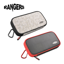 Rangers Camera Lens Filter Case Bag Wallet 6 Pockets Pouch + Carabiner  for 49-77mm UV CPL FLD ND Filters RA104/5