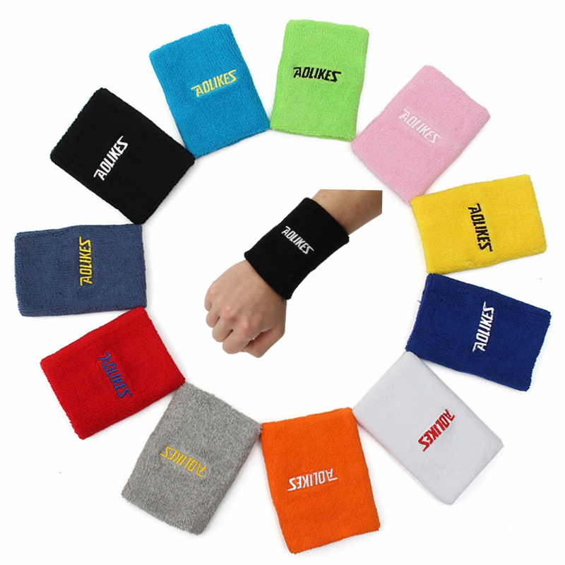 16 X 11 Sweat Towel: AOLIKES 1PCS 11x8cm Towel Sweat Absorbent Wristband Soft