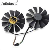 95MM FirstD FD10015H12S 0 55A 4PIN 5Pin Cooler Fan For ASUS GeForce GTX 970 980 TI