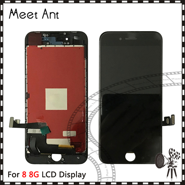 new products 0b520 5913d DHL 5pcs High Quality For iPhone 8 8G or Plus 8Plus LCD Display Screen With  Touch Digitizer Assembly Good 3D