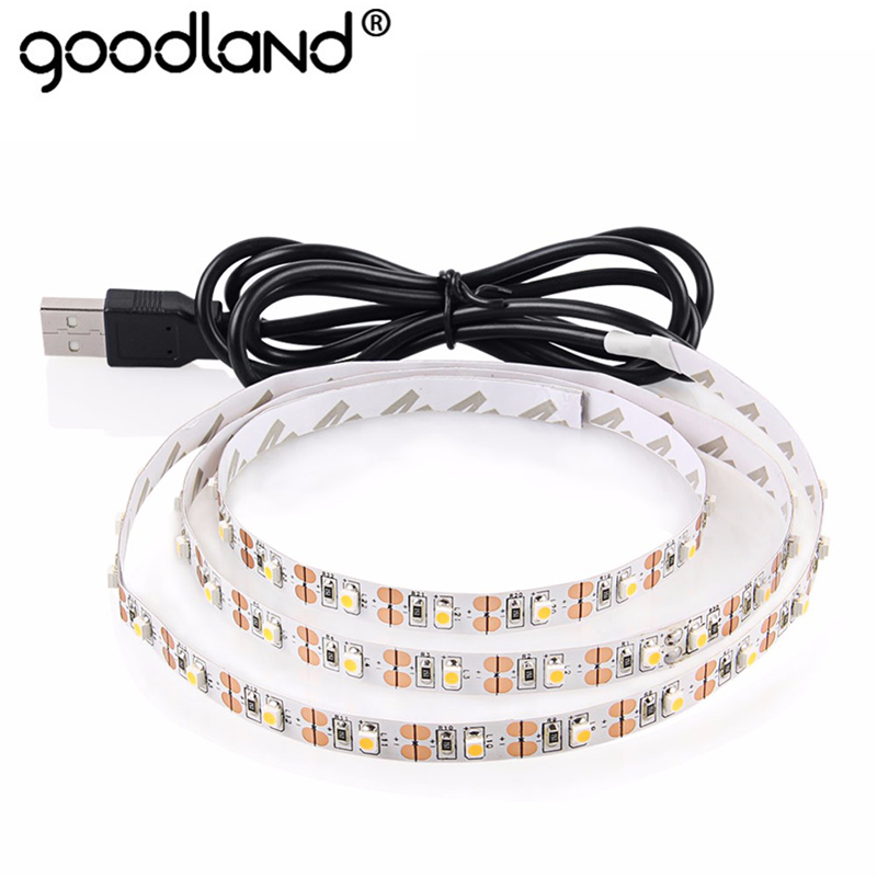 USB LED Strip Light TV Background Lighting SMD3528 DC 5V Flexible Diode Tape 50CM 1M 2M 3M 4M 5M RGB Neon Ribbon kinlams 5v 50cm 1m 2m 3m 4m 5m usb cable power led strip light smd2835 3528 christmas desk lamp tape for tv background lighting