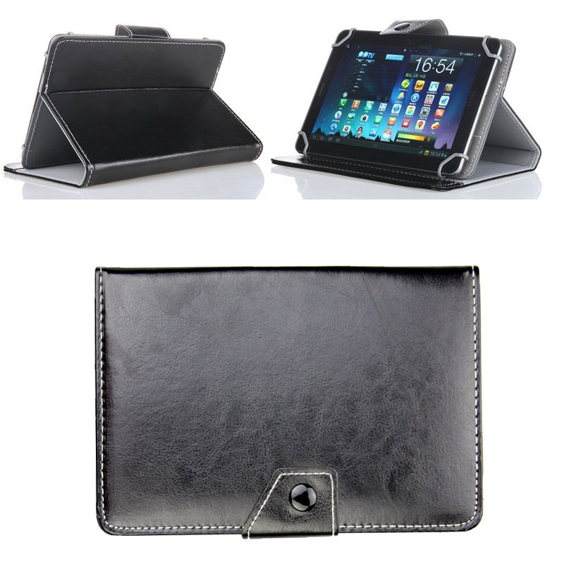 For 10.1 inch Tablet Oysters T102MS 3G Universal Magnetic PU Leather Book Cover Case 10 Colors 2 Gifts steelie magnetic tablet socket