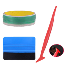 3 X Tape Cutter Micro Squeegee Fabric Felt 3D Carbon Fiber Tucking Tool Kit NEW