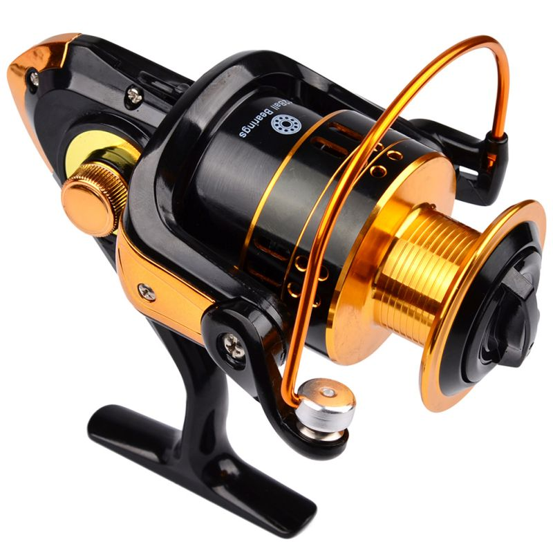 12ball bearings type fishing reels gear ratio left right for Different types of fishing reels