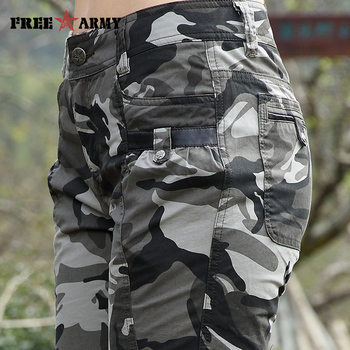 Freearmy Brand New Fashion Summer Style Knee-Length Short Trousers Women's Military Style Camouflage Ladies Short Pants  Cotton  3