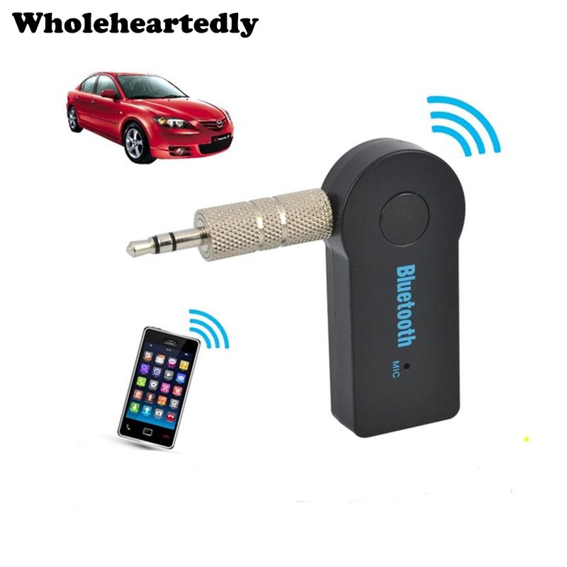 Portátil Mini Sem Fio Bluetooth Receptor De Áudio de 3.5mm Auto AUX - Áudio e vídeo portáteis