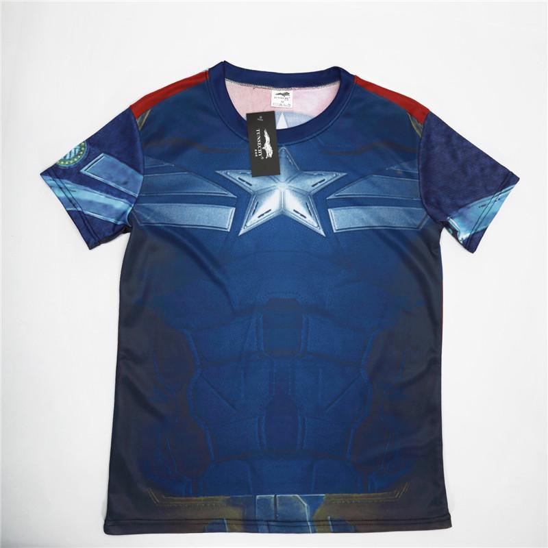 HTB1MLCRQFXXXXbWXVXXq6xXFXXXJ - Superman Batman spider man captain America Hulk Iron Man fitness shirts boyfriend gift ideas