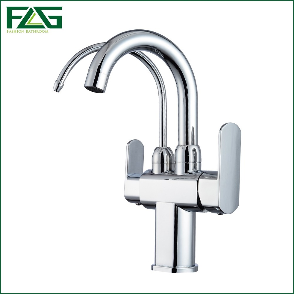 Attractive FLG Kitchen Drinking Water Faucet 3 Way 2 Function Water Outlet 360 Degree  Rotating Filter