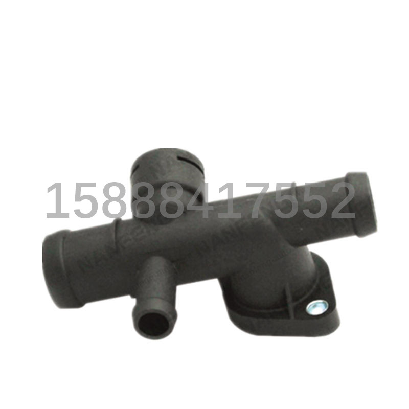 1pcs Auto cooling system thermostat housing thermostat cover Thermostat Coolant Water Outlet 06A 121 133C 06A 121 132A