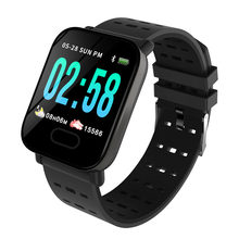 Big Screen Smart Watch M20 Sport Wristband IP67 Waterproof Heart Rate Blood Pressure Calorie Monitor Bracelet for IOS Android(China)