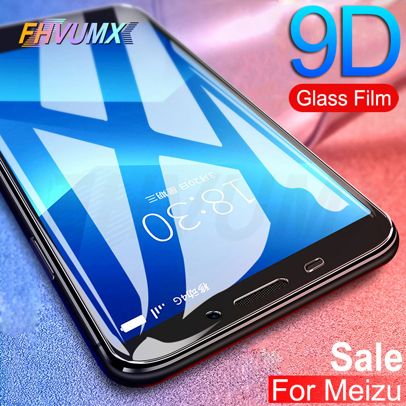 9D Protective Glass On The For Meizu M6 M6S M6T M5 M5S M5C M3 M3S M3E M3 M5 M6 Note Pro 7 Tempered Screen Protector Glass Film