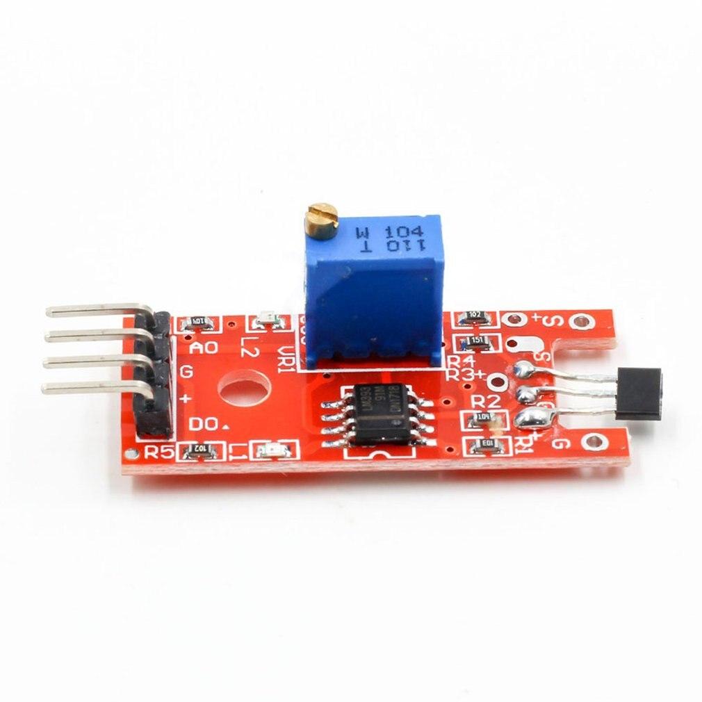 2PCS KY-024 Raspberry kompatible Linear Hall Magnetic Sensor Module NEW