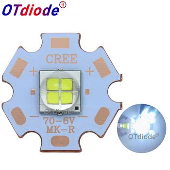 5PCS 7070 20W 6V12V Led replace Cree XHP70 2 XHP50 2 LED Emitter Cool White 6500K Car Light Diode Chip Light with Copper PCB tanie i dobre opinie OTdiode Piłka Epileds 7070 LED 12 v 1-3A