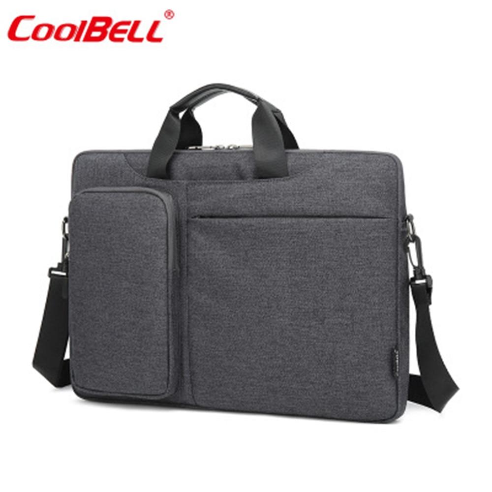 COOLBELL Bag 15.6inch Laptop Bag For Men And Women Ultra-thin Business Hand Bag Shoulder Diagonal Package